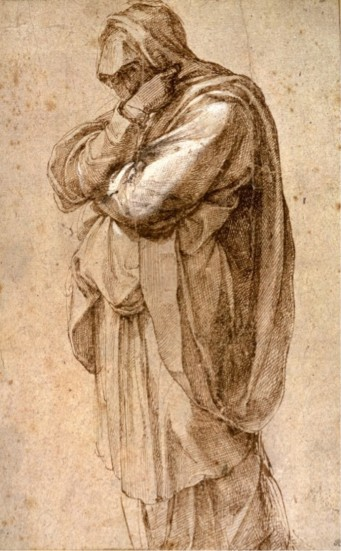 mourning woman michaelangelo