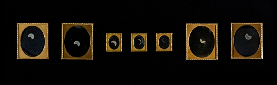 1_Series of solar eclipse photographs