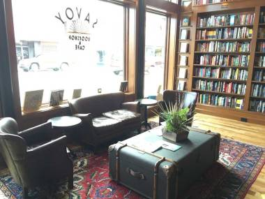 savoy bookshop and cafe
